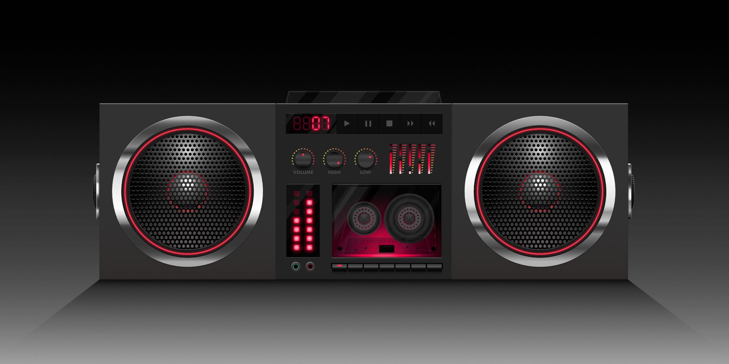stereo-illustration
